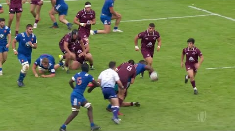 France's epic offloading game