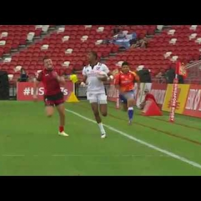USA's fastest sevens star in Singapore!