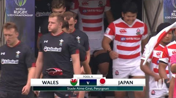 Wales 18-17 Japan - World Rugby U20 Championship Highlights