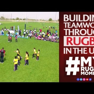 Rugby in the UAE on National Sport Day | #MyRugbyMoment