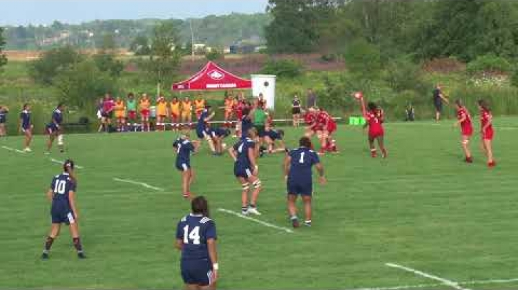 U20 TRI Nations Cup - Canada vs USA 180807
