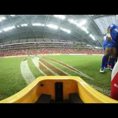 360: Get onto the pitch at the Singapore Sevens!