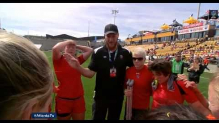 Canada v France Cup Quarterfinal from Atlanta 7s 2015