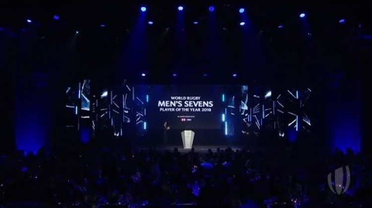 Perry Baker wins World Rugby Men's Sevens Player of the Year 2018