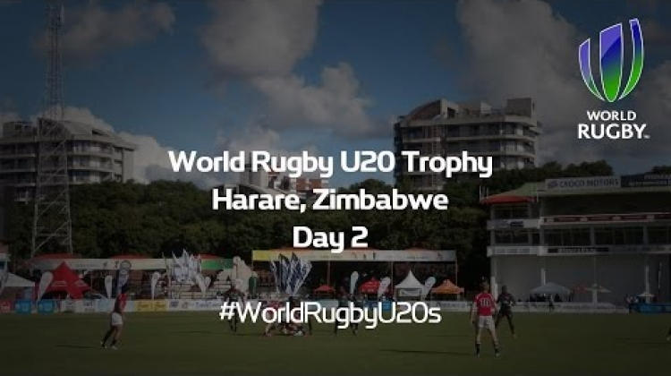 U20 Trophy Day 2 replay