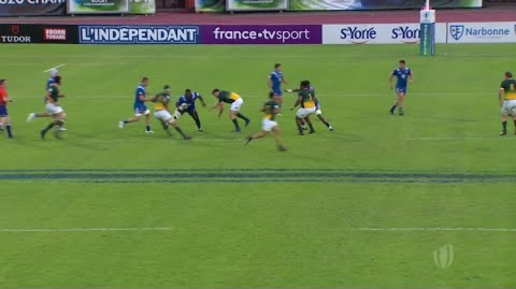 Top try from France U20s