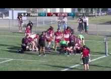 2017 Canadian Rugby Championship - Prairie Wolf Pack v Atlantic Rock - Highlights (Aug. 19)