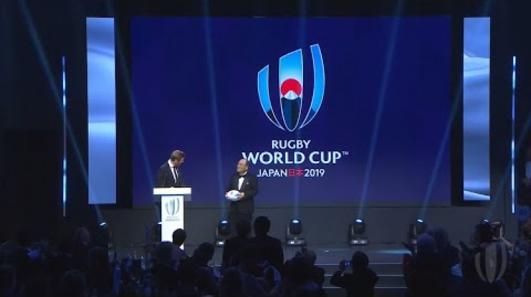 Official handover from Rugby World Cup 2019 to Rugby World Cup 2023