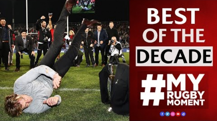 The Best Fan Moments of the Decade | #MyRugbyMoment