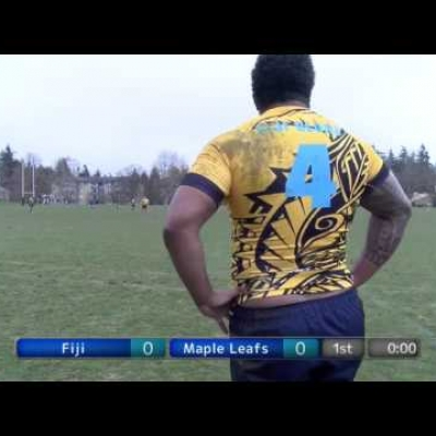 Fiji Blond v Maple Leafs (Elite Men)