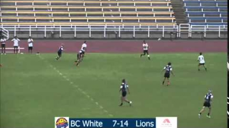 Victoria 7s - BCEY7s (Team White) vs Utah Lions - July 11, 2015