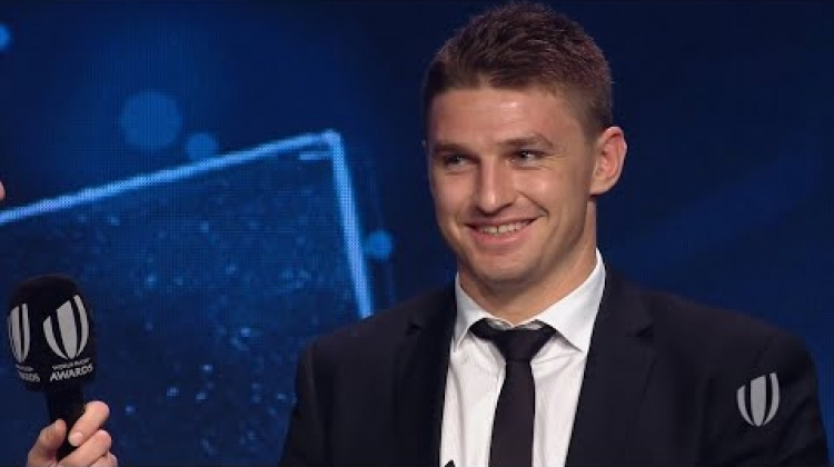 IRP Try of the Year 2018 - Barrett picks up TOTY award for New Zealand