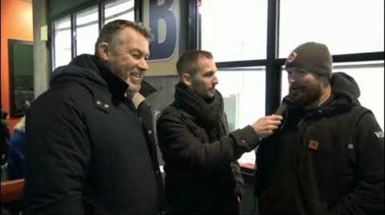 Interview with Ray Barkwill - Dec 22nd 2018 at Seawolves v Tide match