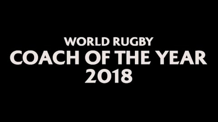 World Rugby Coach of the Year 2018 - Joe Schmidt