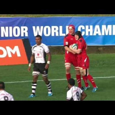 Dafydd Howells' unbelievable 7 second try