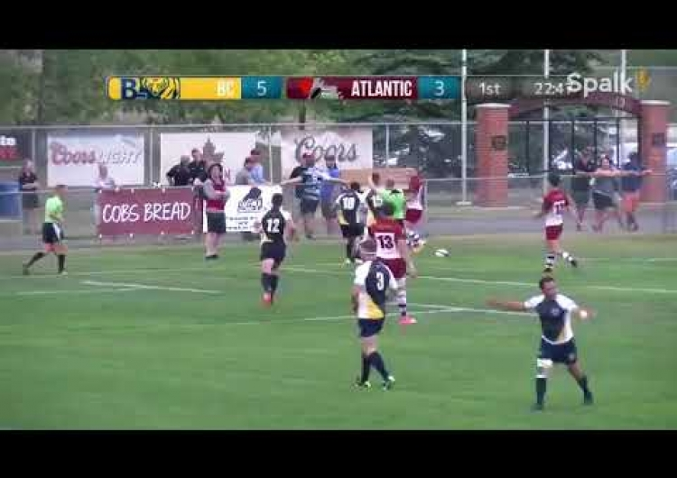 2017 Canadian Rugby Championship - BC Bears v Atlantic Rock - Highlights