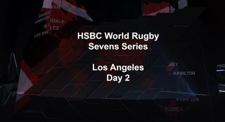 LIVE - Los Angeles Sevens (English Commentary) - HSBC World Rugby Sevens Series 2020