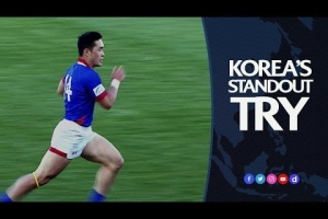 Korea's amazing end to end to end try