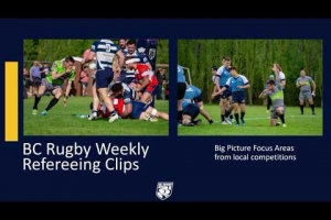 BC Rugby Weekly Focus Area Clips 22 Feb 2020