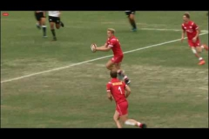 World School 7s - Pool round - Canada 5 - NZ Maori 10
