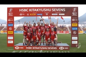 Highlights: Canada win spectacular Kitakyushu Sevens