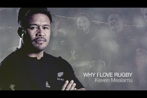 Keven Mealamu | Why I love rugby