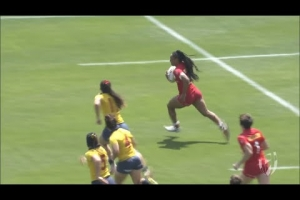 Seven incredible tries from the Kitakyushu Sevens