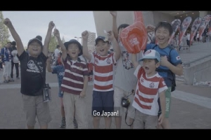 A day in the life of a Japanese rugby fan