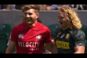 HIGHLIGHTS: Awesome action on day one of London Sevens
