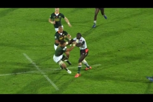 Otieno's unstoppable run against South Africa