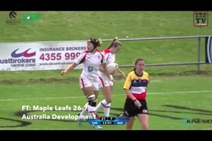 Canada's Women's Maple Leafs - Central Coast Sevens - Day 1 Highlights