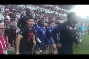 France U20s react to winning the World Rugby U20 Championship