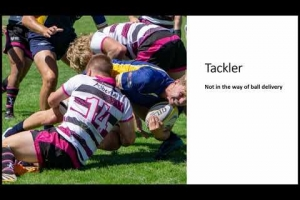Positive Rugby Guide: Breakdown & The Tackler