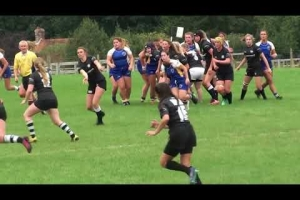 BC U18 Girls' XV vs Pulborough RFC - 1st half