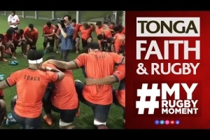 Tonga's pre-match show of faith | #MyRugbyMoment