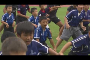 Amazing HAKA by school kids in Japan!
