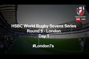HSBC World Rugby Sevens Series 2019 - London Day 1 (French Commentary)
