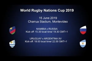 World Rugby Nations Cup 2019 - Namibia v Russia