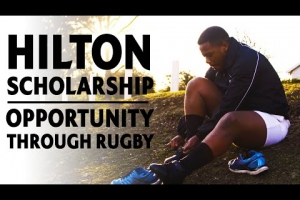 Hilton scholarship | Creating a sporting chance