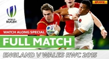 England v Wales RWC 2015 | Flats & Shanks Watch-Along Special