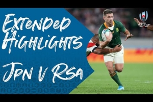 Extended Highlights: Japan vs South Africa - Rugby World Cup 2019
