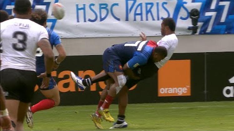 RE:Live - Captain Kolinisau sends Fiji to the final in Paris!