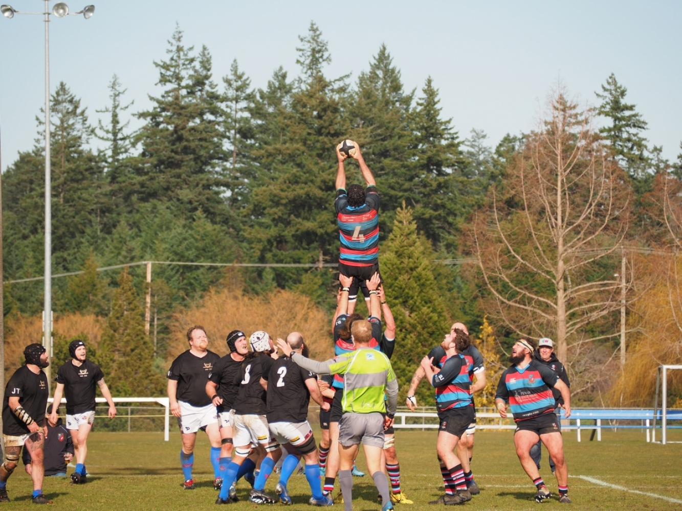 It's Rugby - Must Be Saturday!