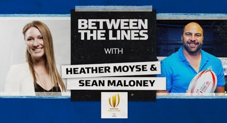 Gold Medal Bobsledding & The World Rugby Hall of Fame | Heather Moyse | Between The Lines