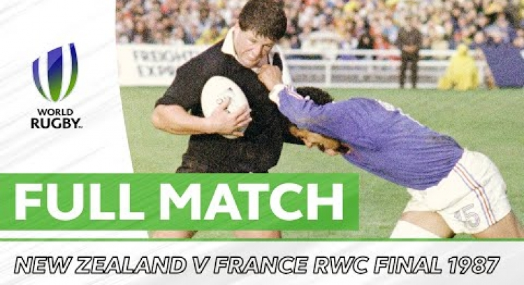 Rugby World Cup 1987 Final: New Zealand v France