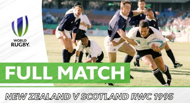 Rugby World Cup 1995: Quarter Final - New Zealand v Scotland