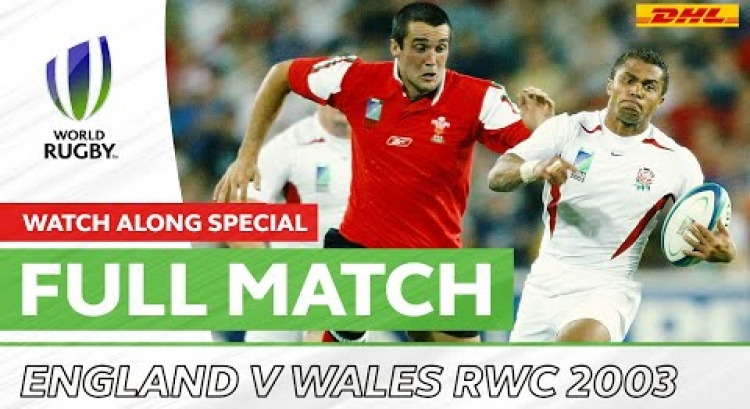 Rugby World Cup 2003: England v Wales | Shanklin & Flatman Watch Along Special