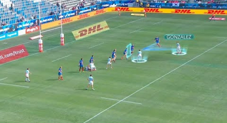 KICK PASS | How the kick pass is used in Rugby Sevens | Canada Sevens