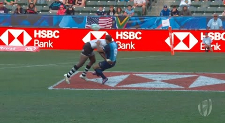 TOP TACKLES + BUMPS | LA SEVENS